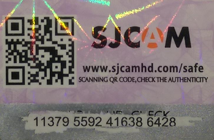 Не правильный код верификации SJCAM SJ4000 plus wifi