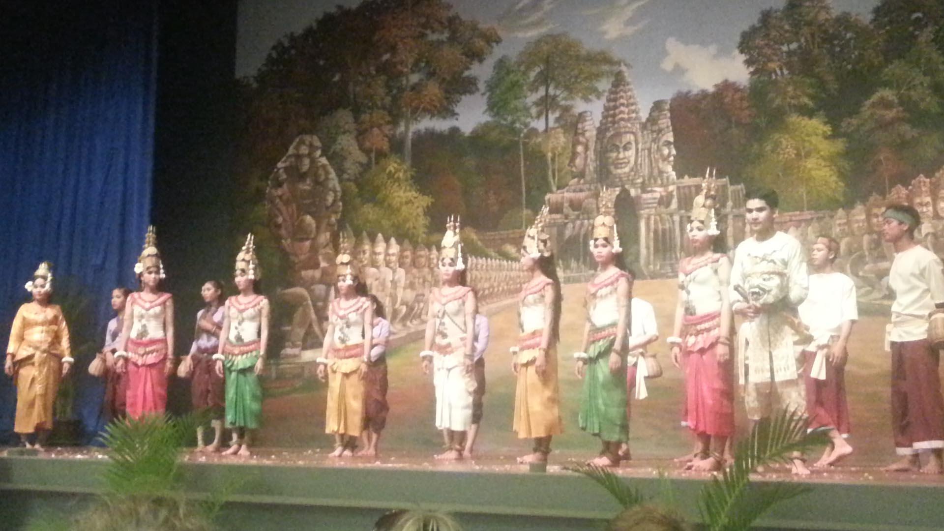Танцоры Апсара
