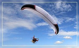 Полет на мотопараплане Красноярск
